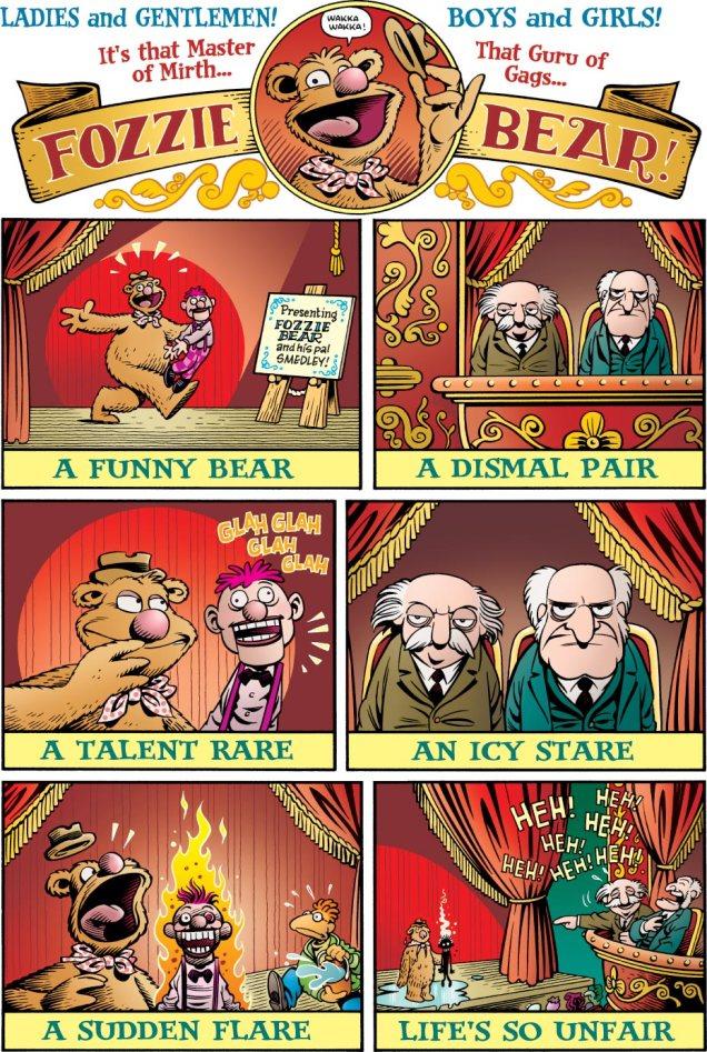 MuppetsRogerLangridgeFozzie-Bear