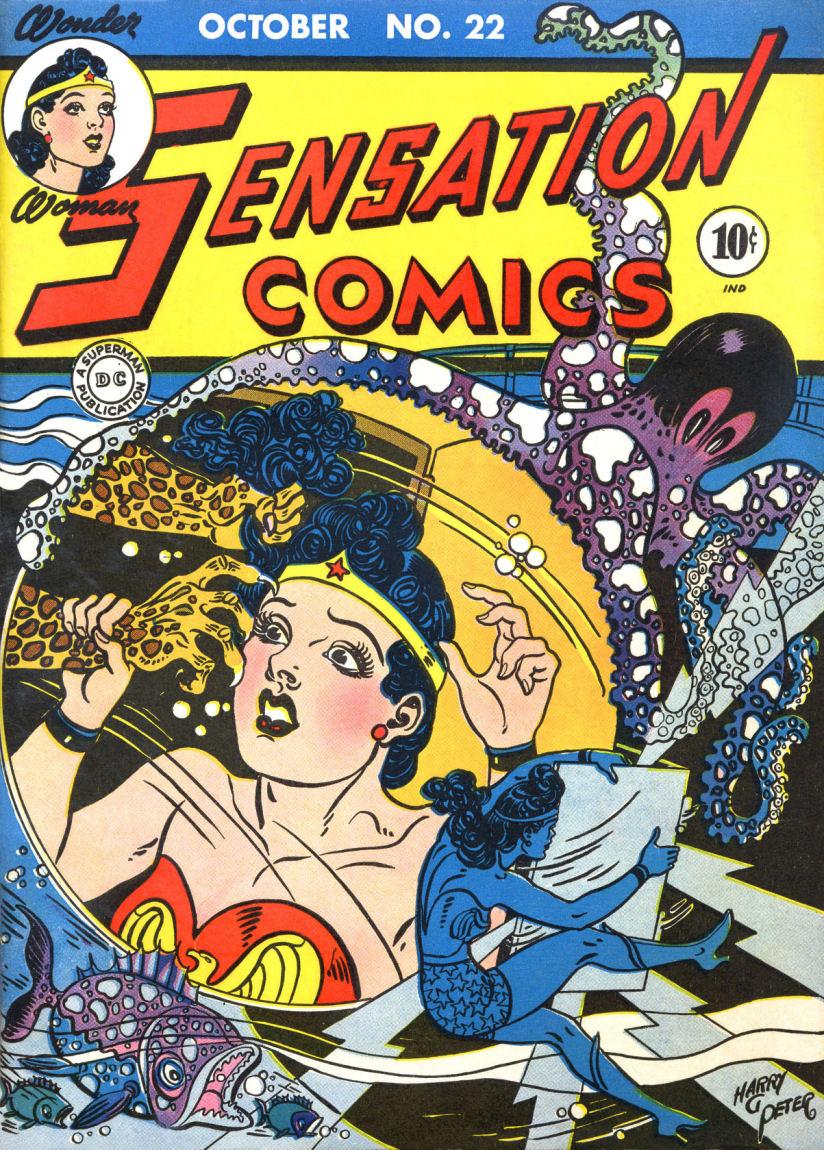SensationComics22-WonderWoman-Octopus