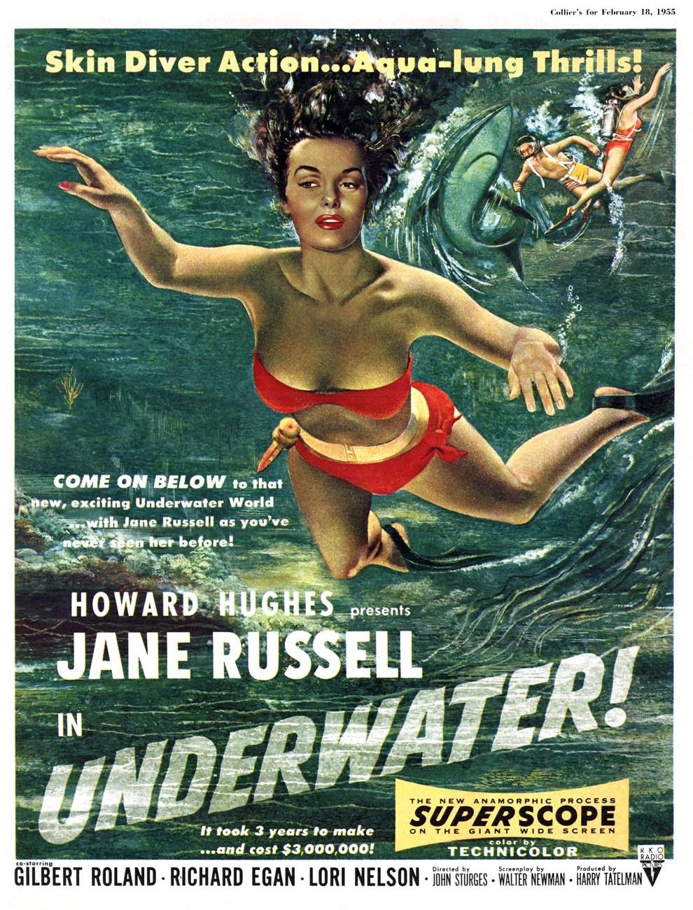 JaneRussell_Underwater 1955A