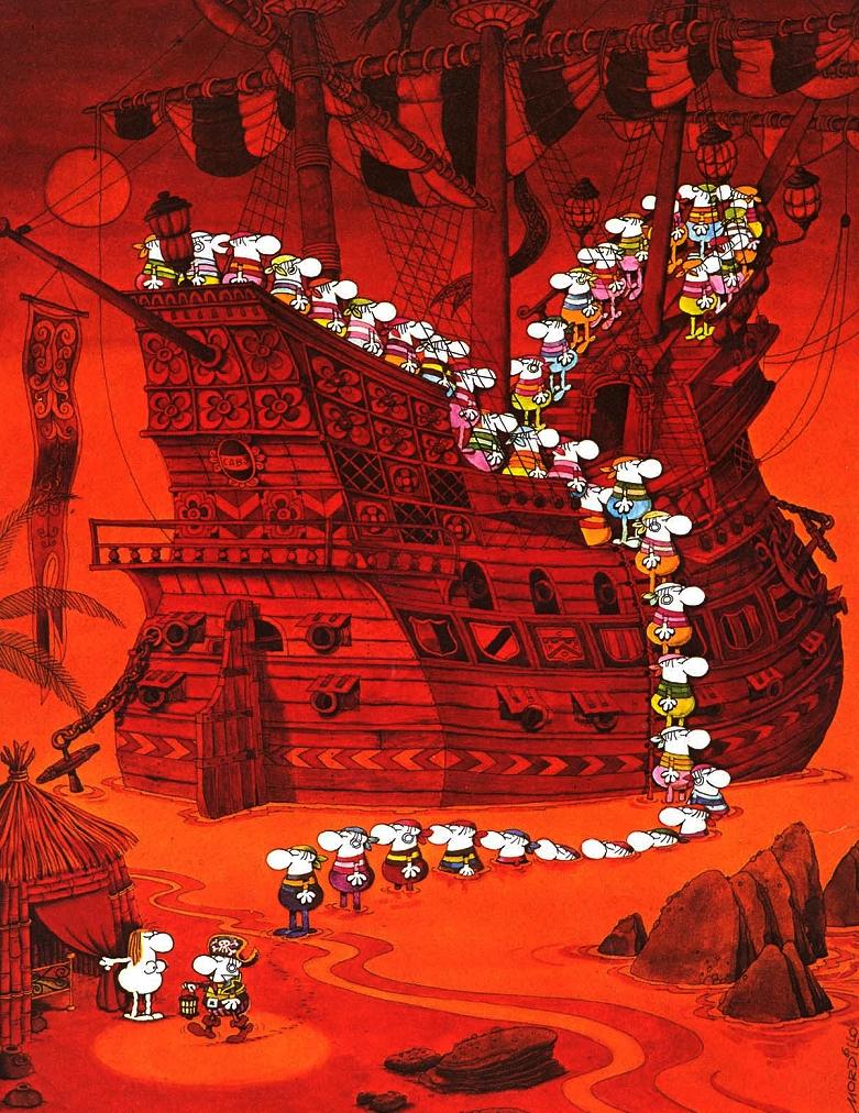 Mordillo-PirateShip