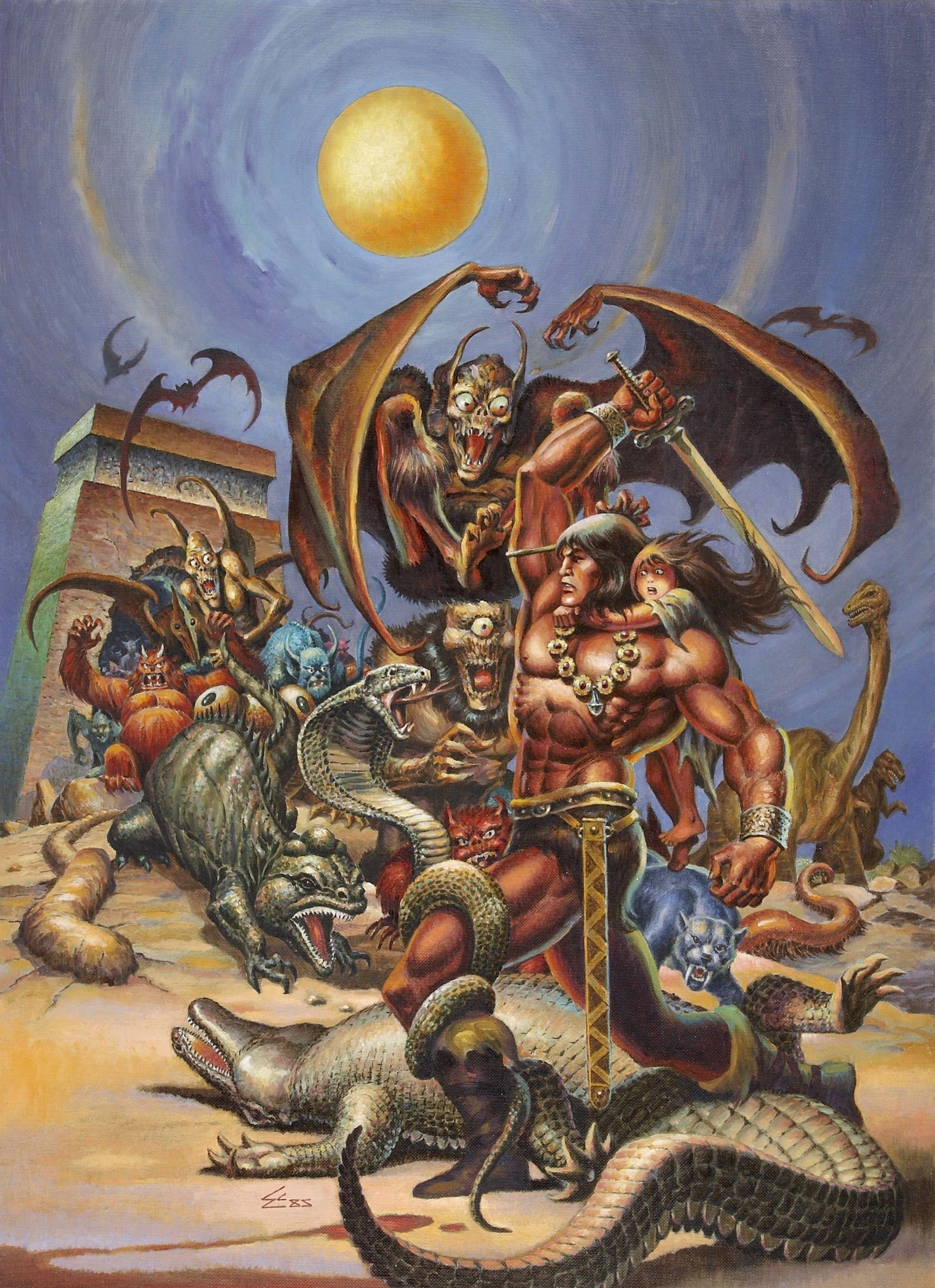 The Savage Sword of Conan #123