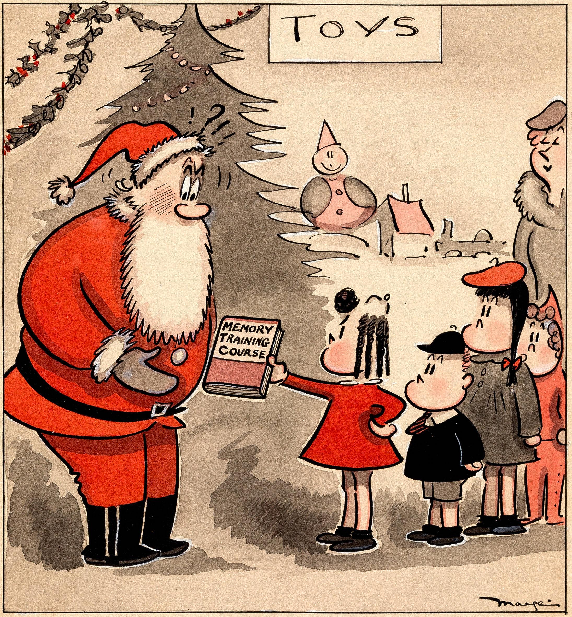 MargeBuell-LittleLulu-Christmas