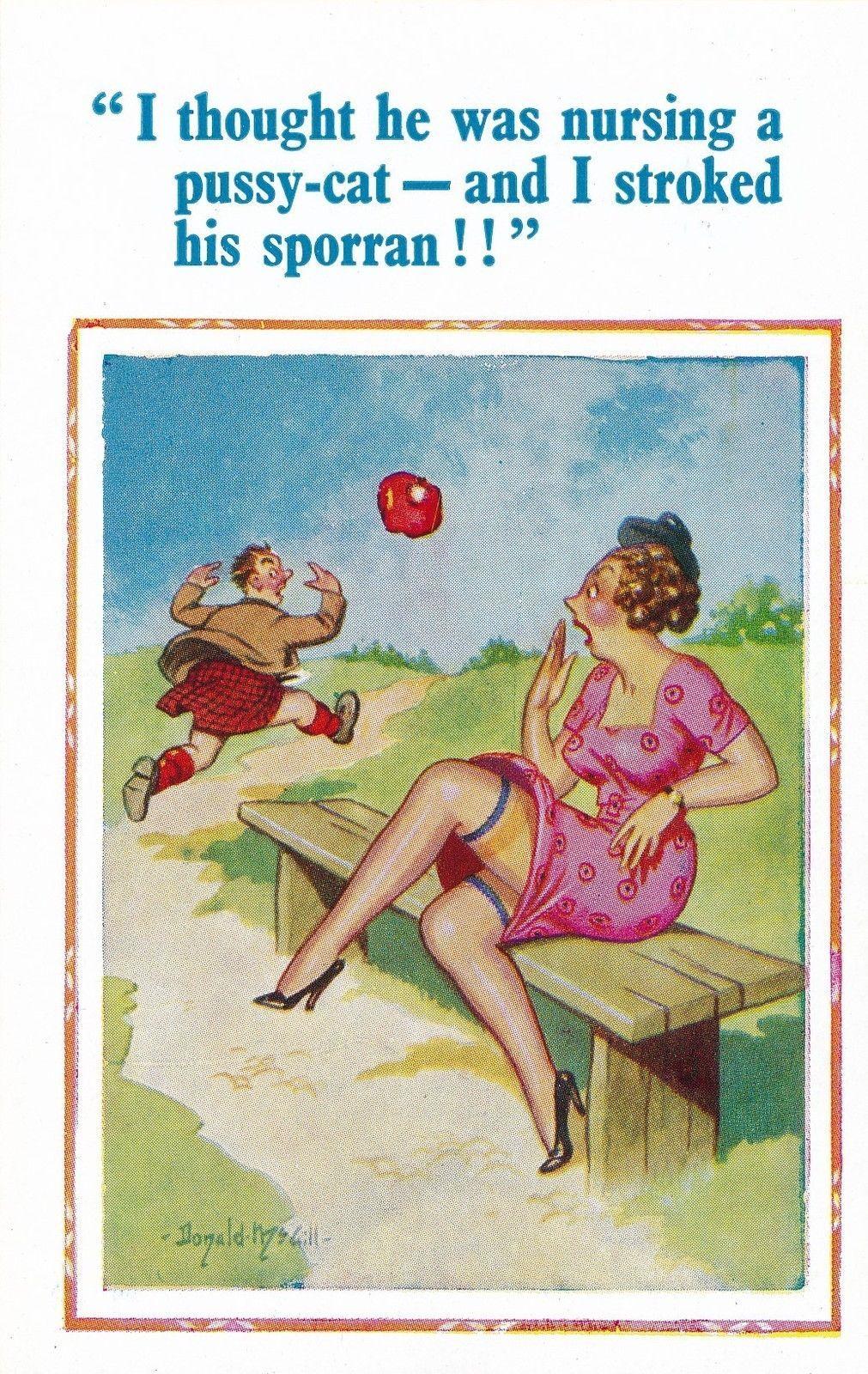 donaldmcgill-postcard-sporran