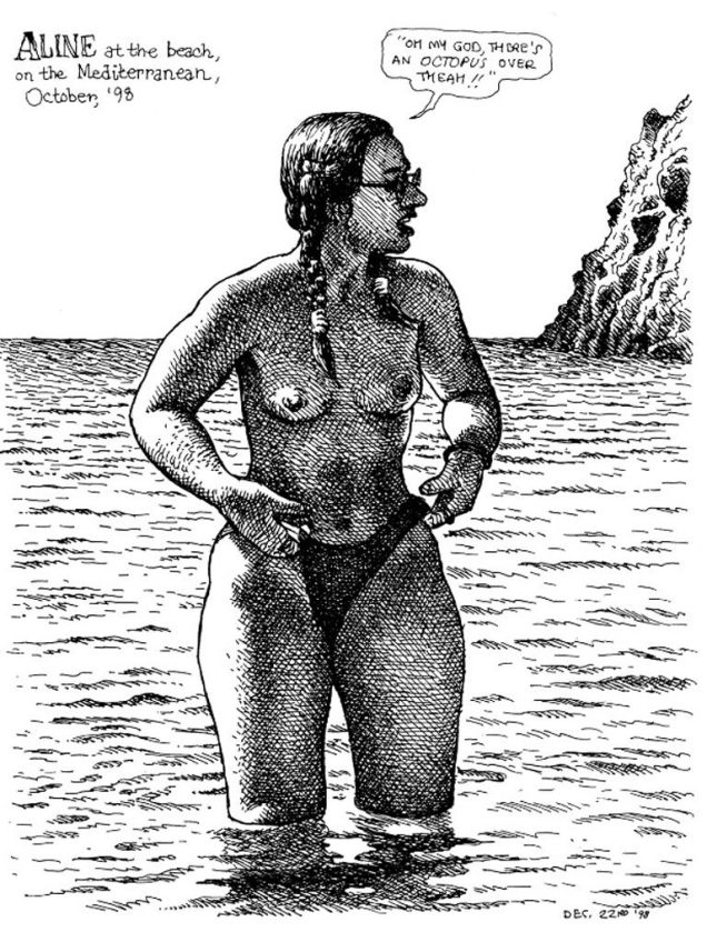 beach-RobertCrumb-Aline