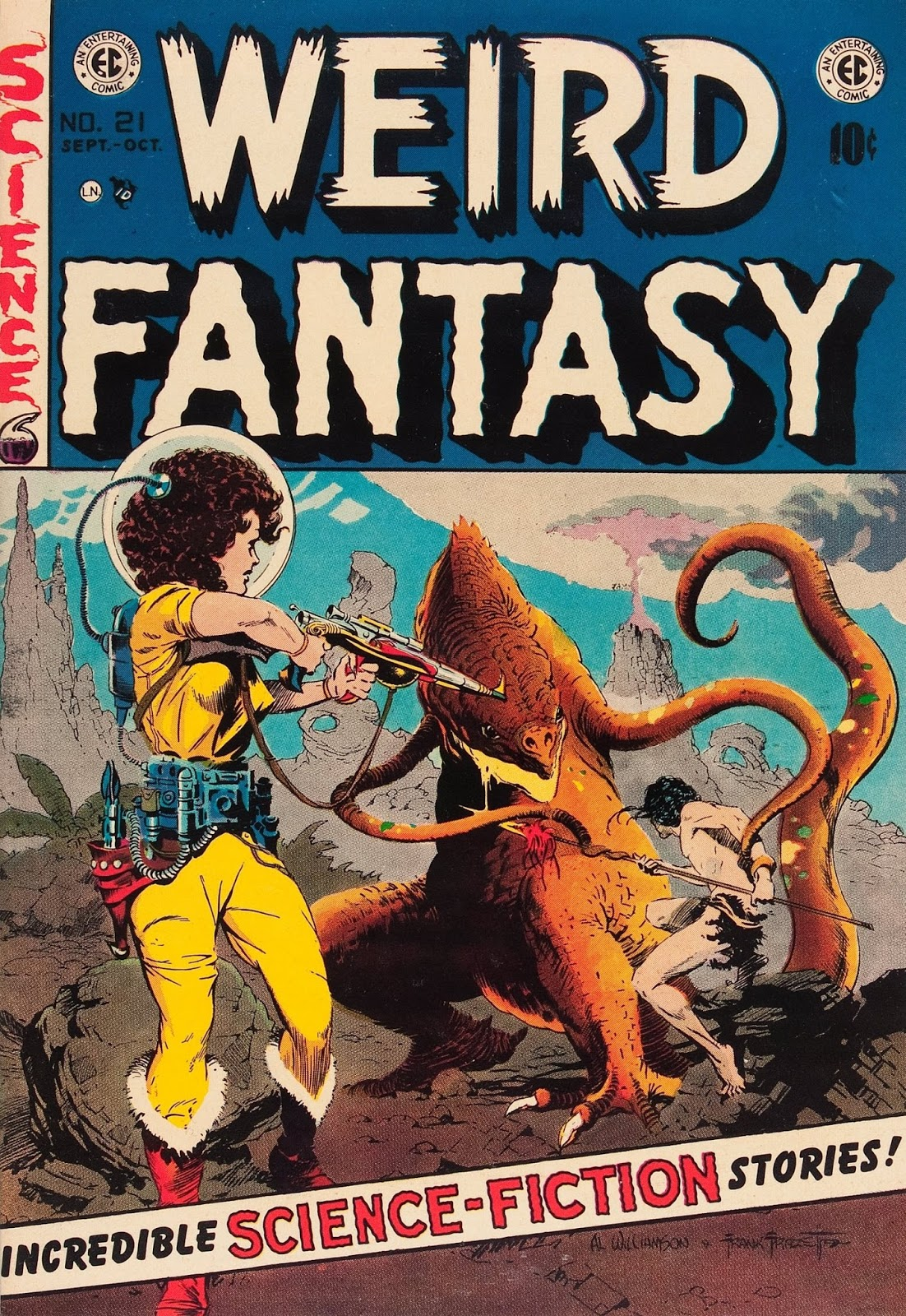 Weird Fantasy #21