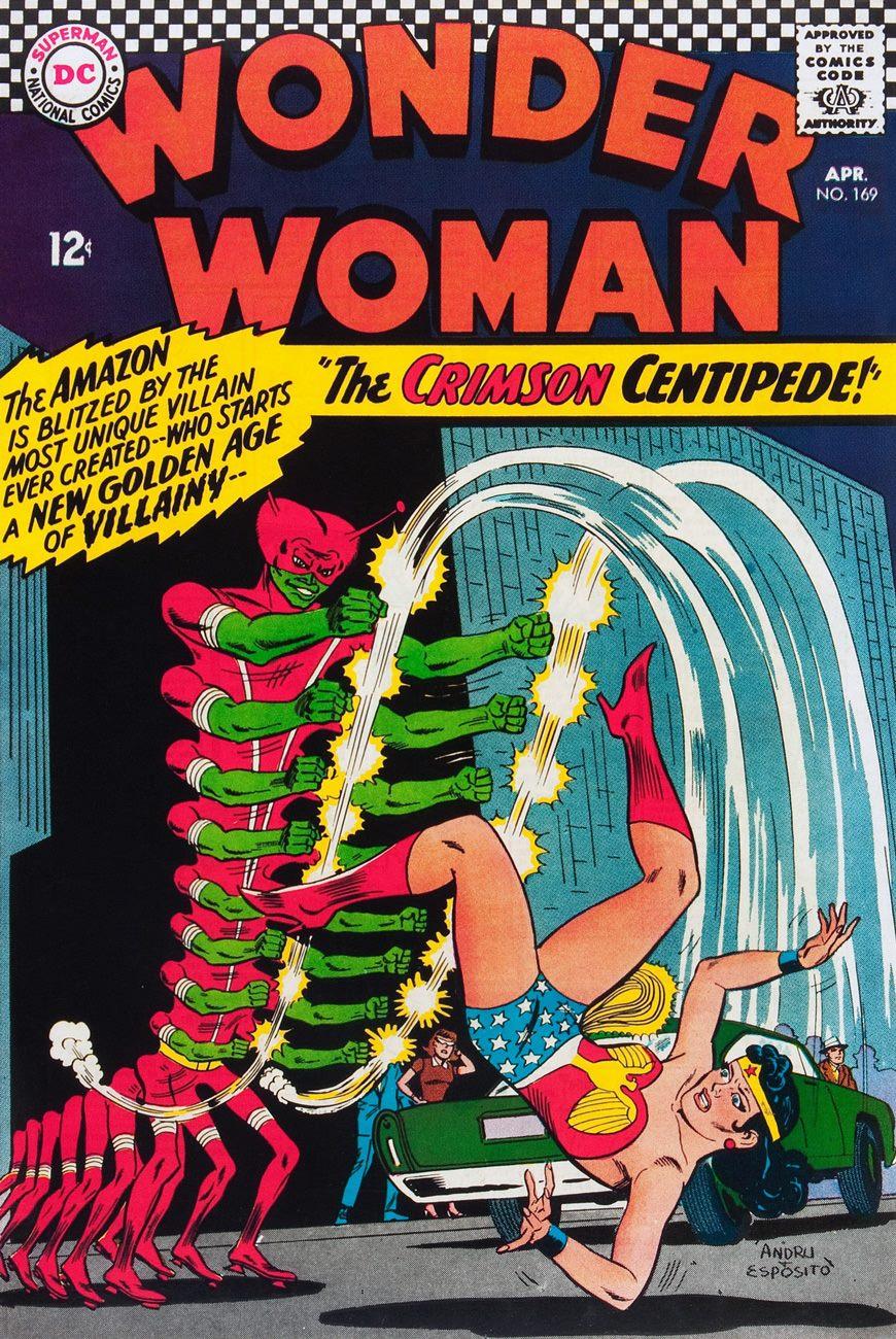 Wonder Woman #169