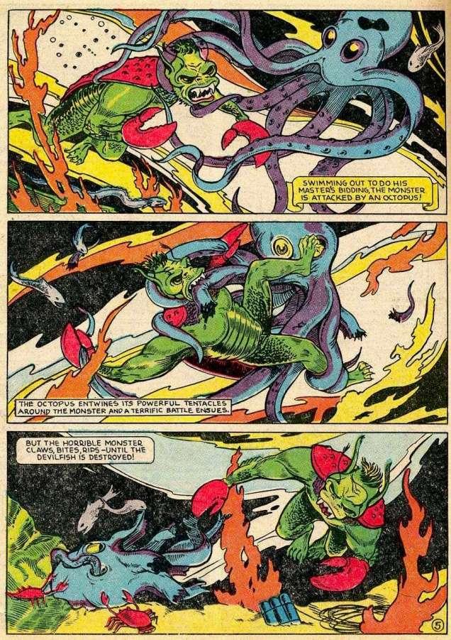 BlueRibbon Comics#3-EddAshe