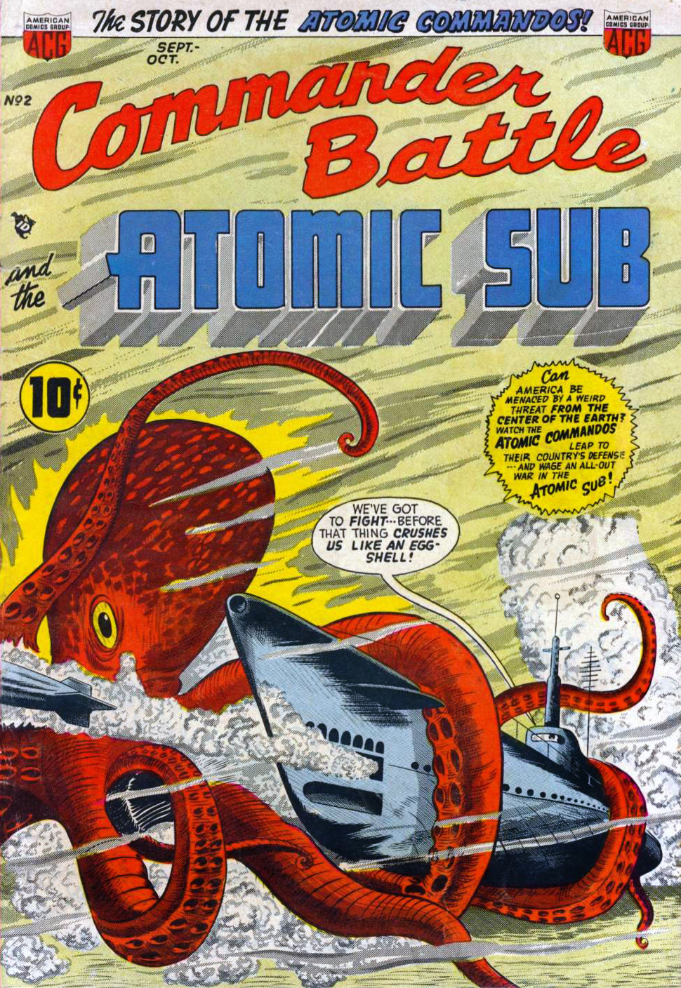 Commander-Battle-and-the-Atomic-Sub-#2