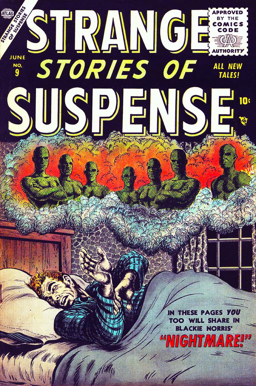 BillEverett-Strange-Stories-of-Suspense-#9