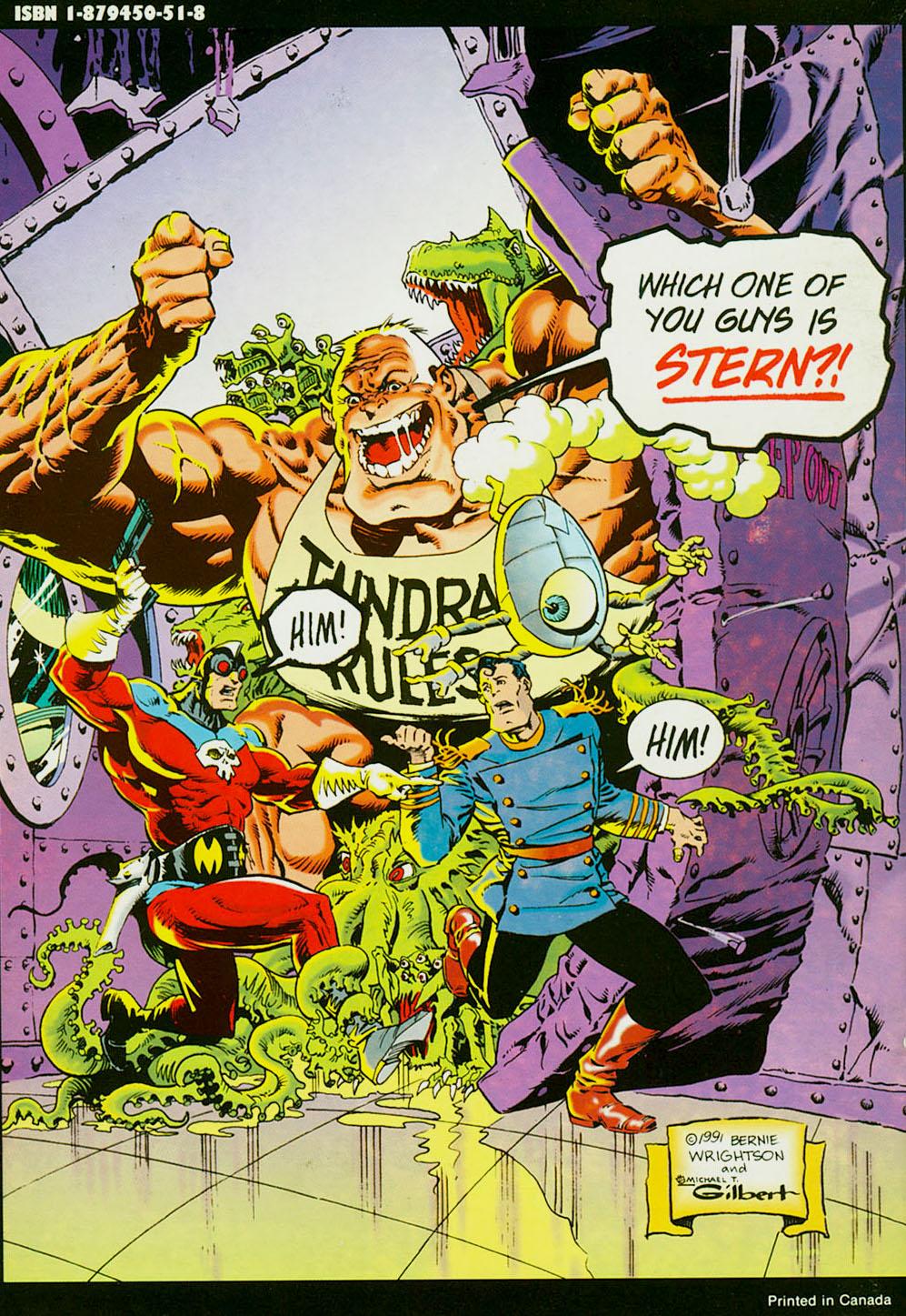 Mr. Monster Attacks#2-backcover