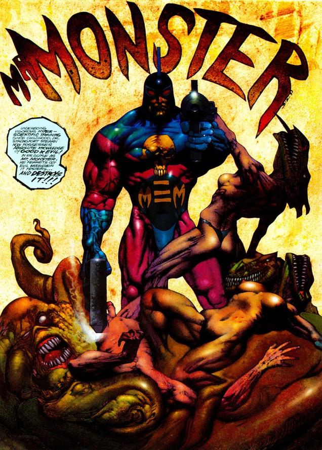 Mr. Monster Attacks!#3