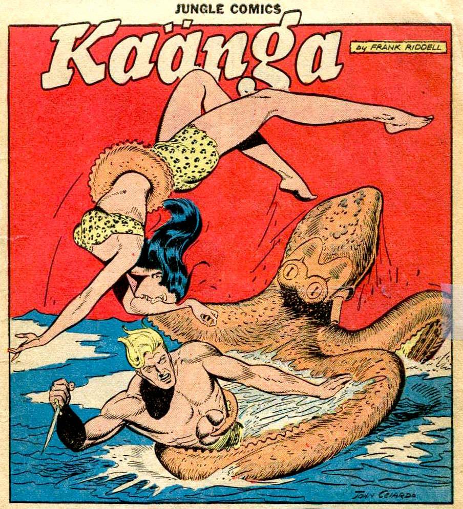 Jungle Comics #105-JohnCelardo