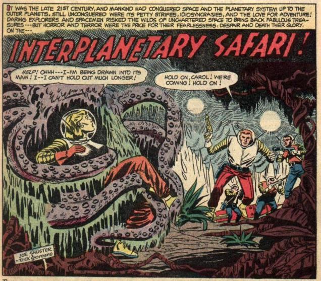 Space Adventures no. 11-interplanetarySafari