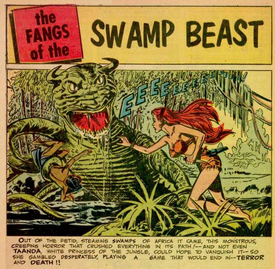 White Princess of the Jungle #4-swampbeast