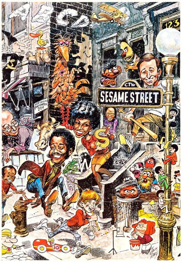 SesameStreetPosterA