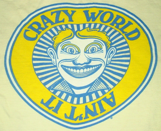 CrazyWorldTShirt