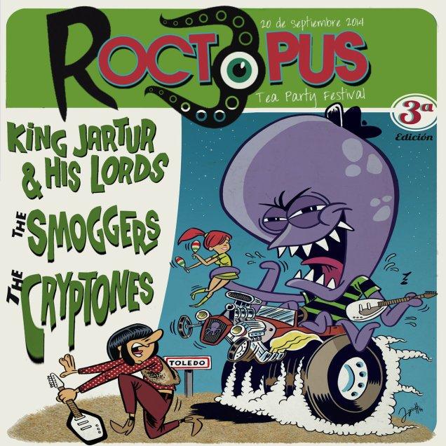 Roctopus Tea Party Vol . 3 by RoctopusT.P.Records