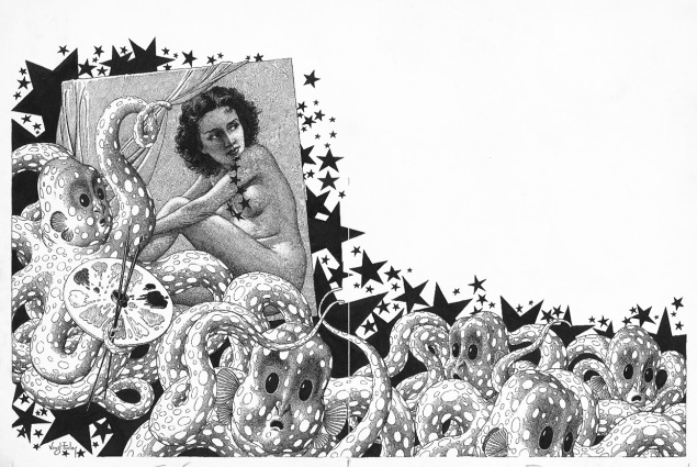 VirgilFinlay-octopus-tentacles