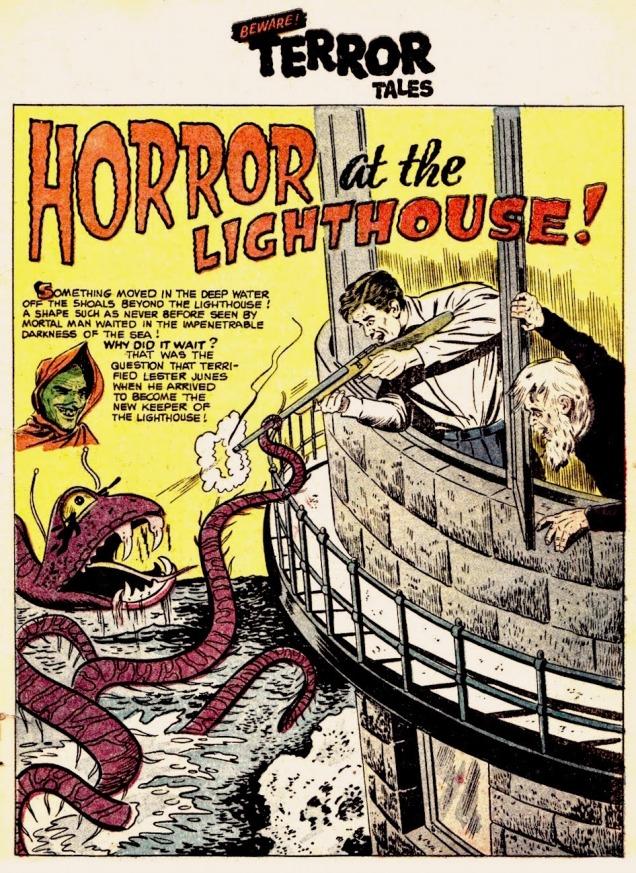 TerroratheLighthouse-SheldonMoldoff-Beware! Terror Tales #6,
