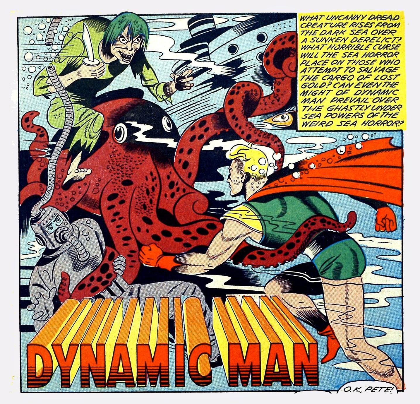 Dynamic Comics No.9 -theseahorror