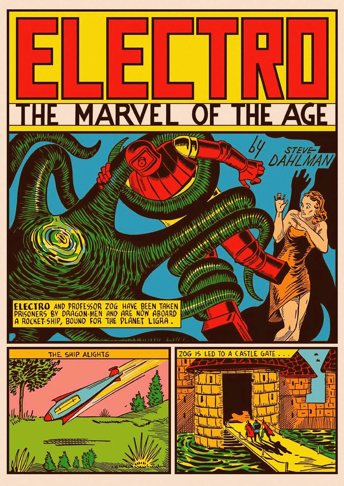 Marvel Mystery Comics no. 9-ontheplanetLigra