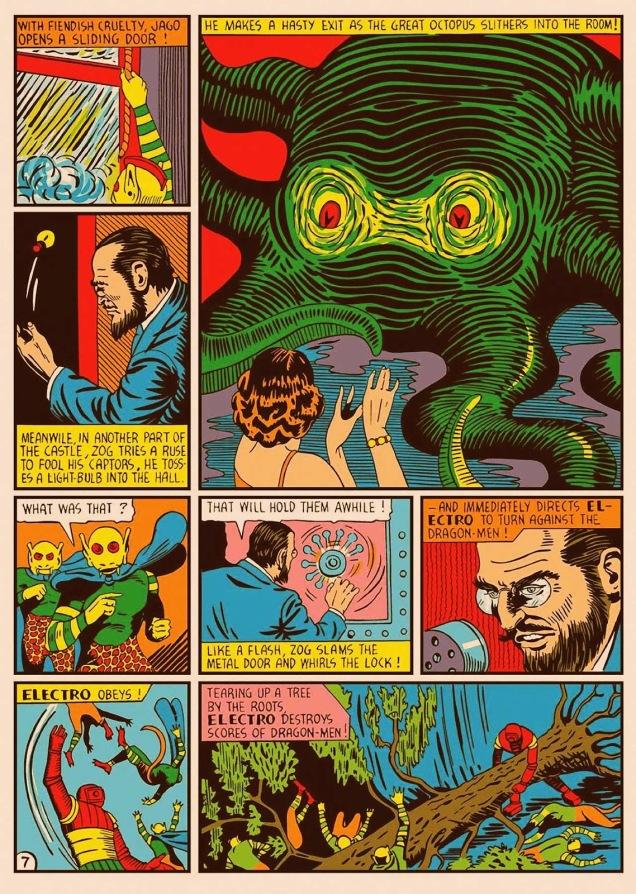 Marvel Mystery Comics no. 9-ontheplanetLigra2