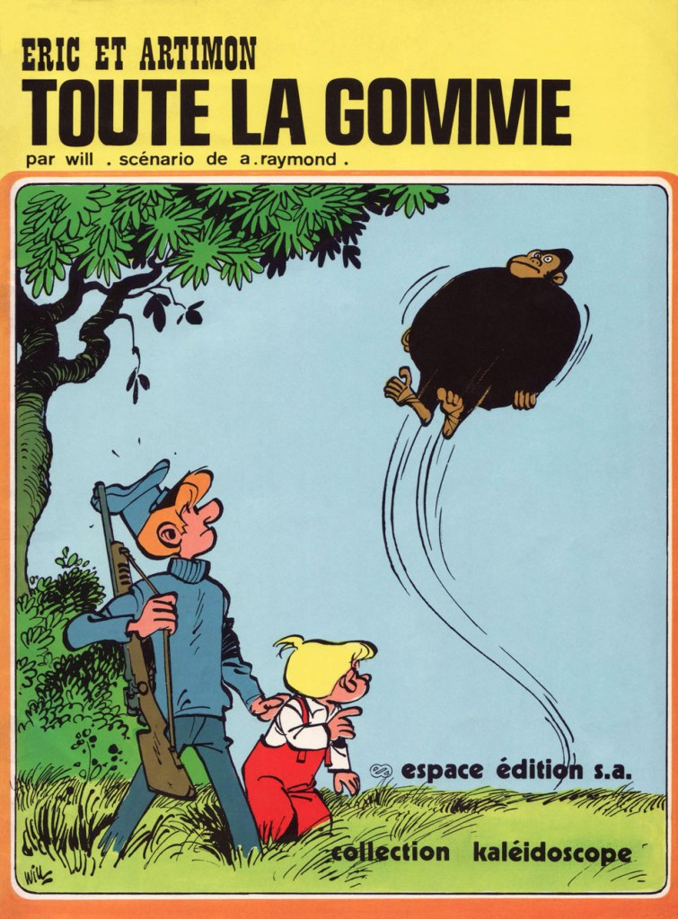The 1976 (and only, so far) edition of Toute la gomme. Still, I'm grateful for its existence: I was finally able to read the whole story, though without colour.